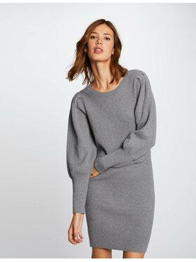 Morgan Morgan Трикотажна сукня 212-RMDALA Сірий Regular Fit