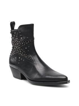 Liu Jo Liu Jo Členková obuv Dakota 02 SF1011 P0102 Čierna
