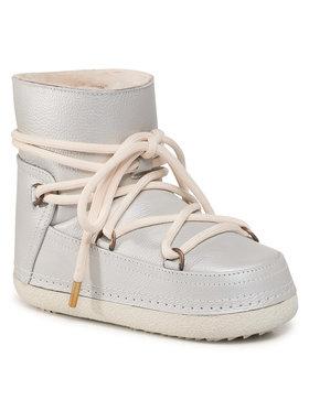 Inuikii Inuikii Pantofi Full Leather 70101-089 Argintiu