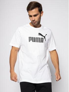 Puma Puma Tricou Essential Tee 851740 Alb Regular Fit