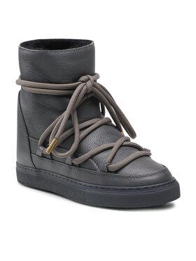 Inuikii Inuikii Обувки Full Leather Wedge 70203-089 Сив