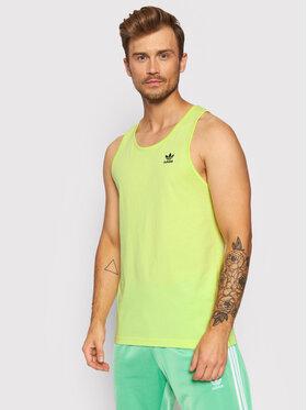 adidas adidas Tank top marškinėliai adicolor Essentials Trefoil H35496 Geltona Regular Fit
