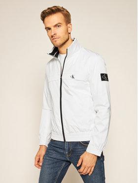 Calvin Klein Jeans Calvin Klein Jeans Μπόμπερ μπουφάν Harrington J30J315672 Λευκό Regular Fit