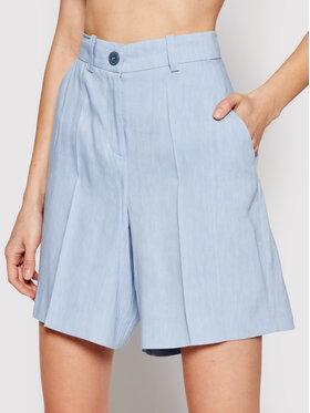Marella Marella Short en tissu Rivalsa 31410115 Bleu Regular Fit