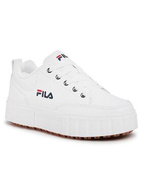 Fila Fila Sneakers Sandblast L Wmn 1011035.1FG Bianco