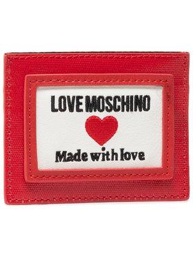 LOVE MOSCHINO LOVE MOSCHINO Pouzdro na kreditní karty JC5606PP1CLC150A Červená