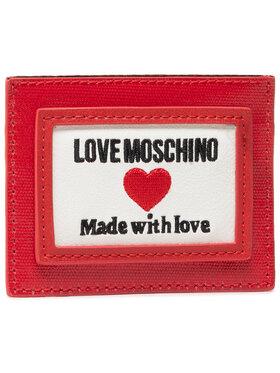 LOVE MOSCHINO LOVE MOSCHINO Puzdro na kreditné karty JC5606PP1CLC150A Červená