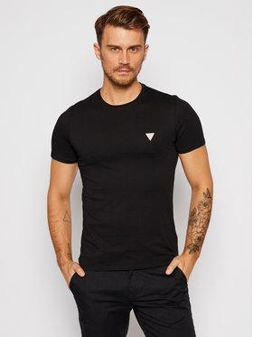 Guess Guess T-Shirt M0BI36 I3Z11 Černá Slim Fit