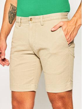 Polo Ralph Lauren Polo Ralph Lauren Bavlnené šortky Bedford 710737075 Sivá Slim Fit