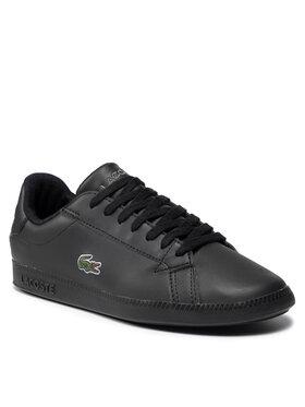Lacoste Lacoste Sneakersy Graduate Bl 21 1 Suj 7-41SUJ001002H Czarny