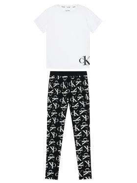 Calvin Klein Calvin Klein Πιτζάμα G80G800458 Λευκό