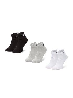 Champion Champion Sada 3 párů nízkých ponožek unisex CH0008QH-8WU Barevná