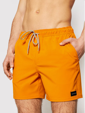Rip Curl Rip Curl Plavecké šortky Daily Volley 16 CBONN4 Oranžová Regular Fit
