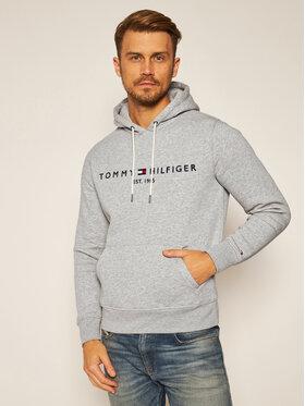Tommy Hilfiger Tommy Hilfiger Džemperis Core Logo MW0MW10752 Pilka Regular Fit