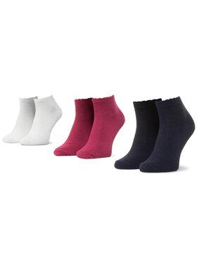 Mayoral Mayoral Σετ κοντές κάλτσες παιδικές 3 τεμαχίων 10877 Λευκό