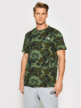 The North Face The North Face T-Shirt Simple Dome NF0A2TX52871 Zielony Regular FIt