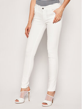 Guess Guess jeansy Skinny Fit Ultra Curve W0GA37 D3XV2 Bianco Skinny Fit