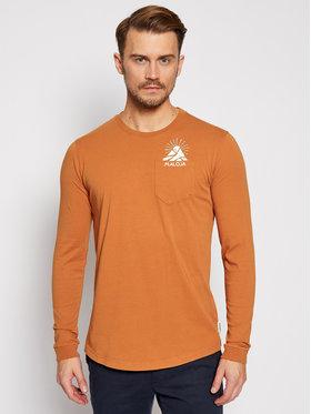Maloja Maloja Marškinėliai ilgomis rankovėmis LegshomM 30508-1-8416 Oranžinė Relaxed Fit
