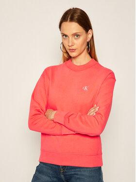 Calvin Klein Jeans Calvin Klein Jeans Sweatshirt Embroidered Logo J20J212875 Rosa Regular Fit