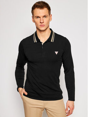 Guess Guess Polo M1RP36 J1311 Czarny Extra Slim Fit