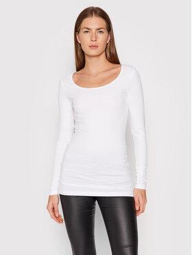 Vero Moda Vero Moda Блузка Maxi My 10152908 Білий Slim Fit