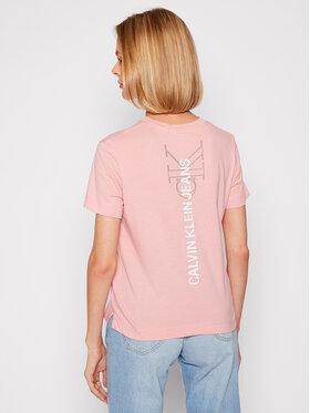 Calvin Klein Jeans Calvin Klein Jeans T-Shirt J20J216256 Różowy Regular Fit