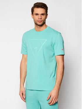 Guess Guess Marškinėliai U1GA06 J1311 Žalia Regular Fit