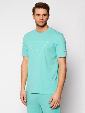 Guess Guess T-shirt U1GA06 J1311 Verde Regular Fit