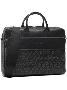 Calvin Klein Calvin Klein Porta PC Laptop Bag W/Pckt K50K506592 Nero