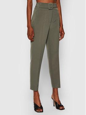 Guess Guess Pantalon en tissu New Hope W1YB0A WB4H2 Vert Regular Fit