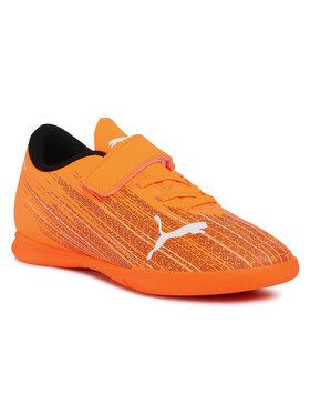 Puma Puma Buty Ultra 4.1 It V Jr 106225 01 Pomarańczowy