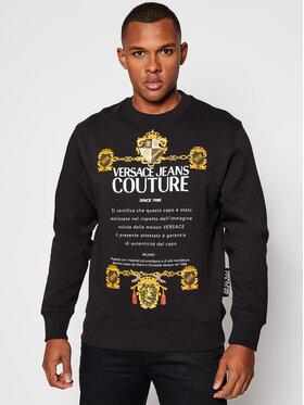 Versace Jeans Couture Versace Jeans Couture Džemperis B7GZB7TU Juoda Regular Fit