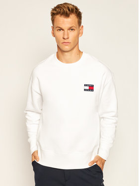 Tommy Jeans Tommy Jeans Sweatshirt DM0DM06692 Weiß Regular Fit