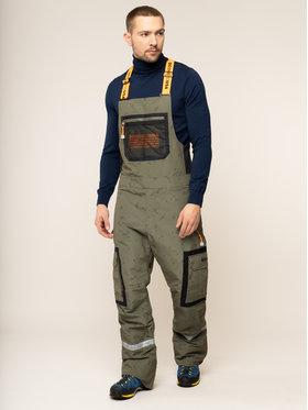 DC Lyžiarske nohavice Revival EDYTP03040 Zelená Regular Fit