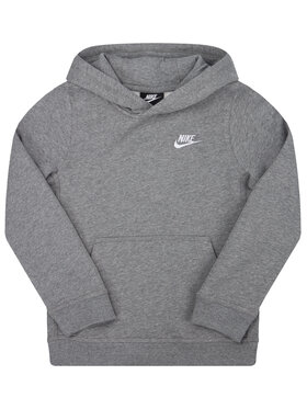 NIKE NIKE Sweatshirt Sportswear Club BV3757 Grau Regular Fit
