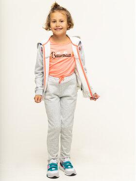 Billieblush Billieblush Spodnie dresowe U14325 Szary Regular Fit