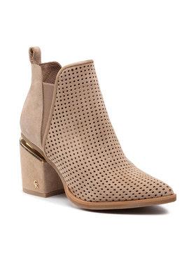 Carinii Carinii Členková obuv B7165 Béžová
