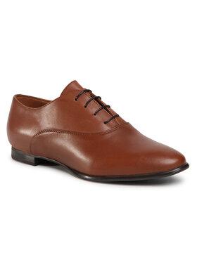 Gino Rossi Gino Rossi Oxford cipők DPH486-X06-0758-3300-0 Barna