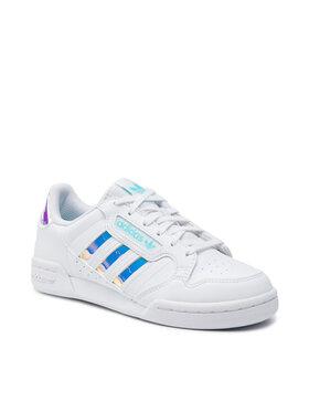 adidas adidas Обувки Continental 80 Stripes J GZ3255 Бял