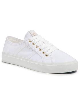 Gant Gant Sneakers aus Stoff Pinestreet 22538609 Weiß