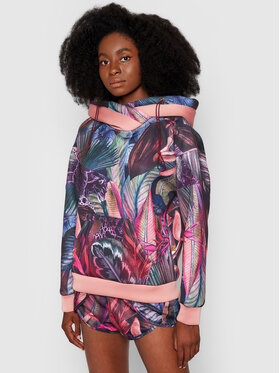 Waikane Vibe Waikane Vibe Bluza Floral Kolorowy Regular Fit