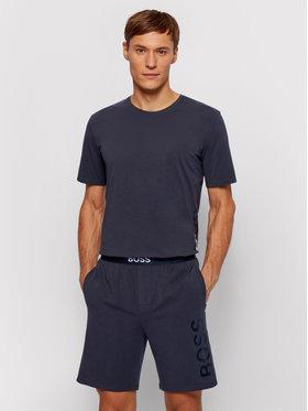 Boss Boss Pantaloni scurți pijama Idenity 50449829 Bleumarin Regular Fit