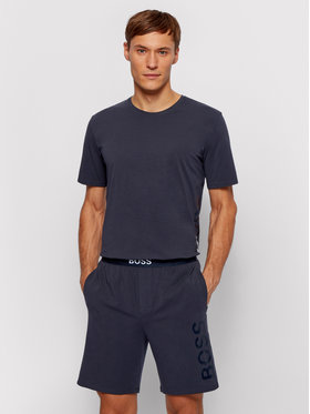 Boss Boss Pyžamové šortky Idenity 50449829 Tmavomodrá Regular Fit