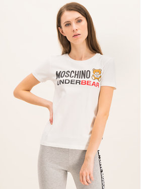 Moschino Underwear & Swim Moschino Underwear & Swim T-shirt A1904 9003 Bianco Slim Fit