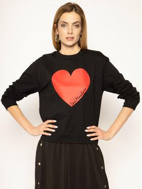 LOVE MOSCHINO LOVE MOSCHINO Sweatshirt W630633E 2124 C74 Schwarz Regular Fit