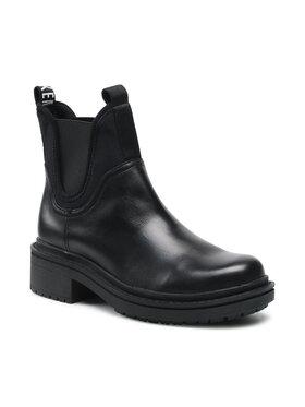Bikkembergs Bikkembergs Členková obuv s elastickým prvkom Chelsea B4BKW0013 Čierna