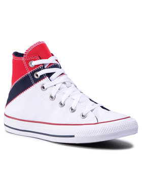 Converse Converse Sneakers aus Stoff Ctas Hi 167028C Weiß
