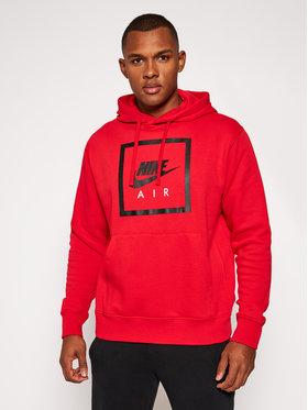 NIKE NIKE Bluză Nsw Air Hoodie CI1052 Roșu Standard Fit