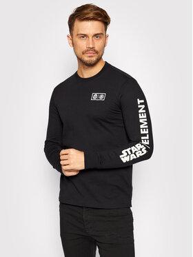 Element Element Тениска с дълъг ръкав STAR WARS™ Child U1LSF2 Черен Regular Fit