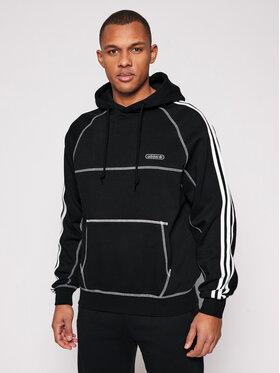 adidas adidas Суитшърт Cntrst Stitch H GN3891 Черен Regular Fit